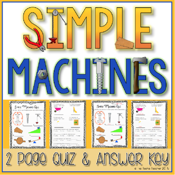 Simple Machines Quiz