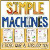Simple Machines Quiz