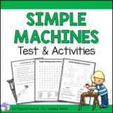 Simple Machines Test & Activities (Grade 2)