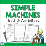 Simple Machines Test & Activities (Grade 2)