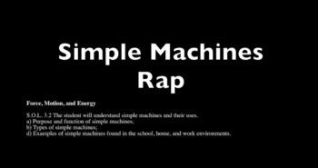 Simple Machines Rap