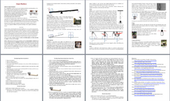 Simple Machines - Reading Article - Grades 5-7