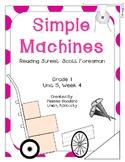 Simple Machines : Reading Street : Grade 1