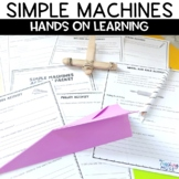 Simple Machines Review Hands on Stations Activity