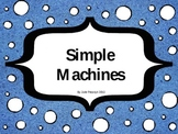 Simple Machines Review Powerpoint