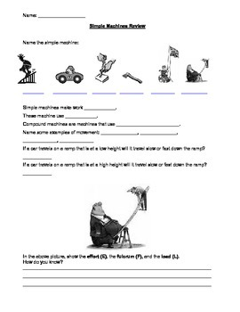 Simple Machines Review and Test