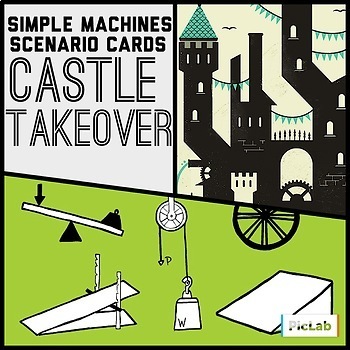 Simple Machines Scenarios- Castle Takeover Task Cards
