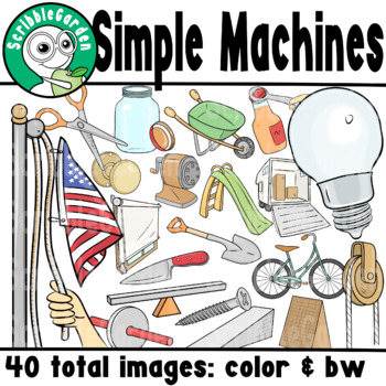 Simple Machines Science ClipArt