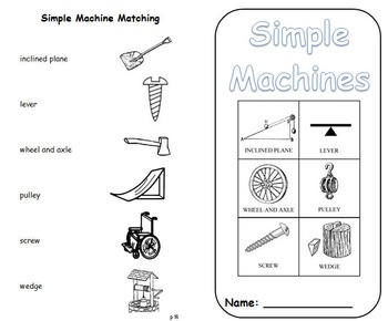 Simple Machines Science Journal