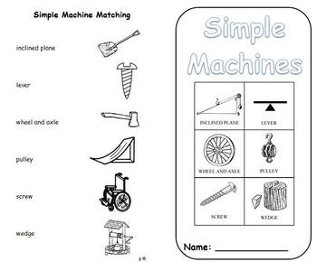 Simple Machines Science Journal