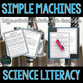 Simple Machines - Science Literacy Article