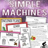 Simple Machines Unit: Reading Passages, Trivia Game, Interactive Book & More!