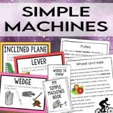 Simple Machines Unit: Activities, Reading Passages, Trivia Game & More