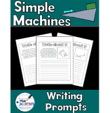 Simple Machines Science Notebook Writing Prompts