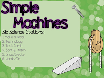 Simple Machines Science Stations