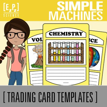 Simple Machines Science Trading Cards