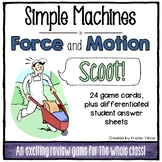 Simple Machines, Force and Motion SCOOT Game