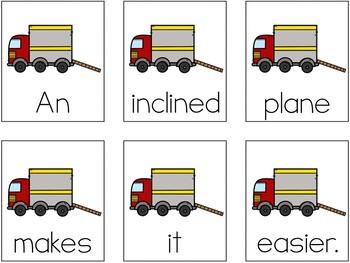 Simple Machines Scrambled Sentences