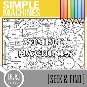 Simple Machines Seek & Find Doodle Page