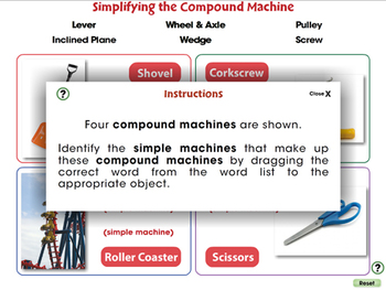 Simple Machines: Simplifying the Compound Machine - MAC Gr. 5-8