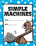 Simple Machines Printable PDF Booklet