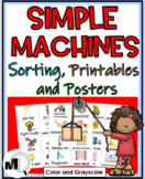 Simple Machines Sorting Activities, Printables, and Science Posters