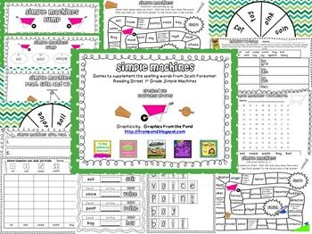 Simple Machines Spelling Games