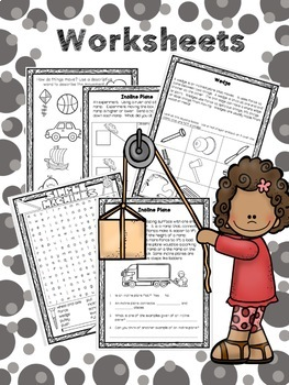 Simple Machines - Structure and Mechanisms Grade 2 Movement