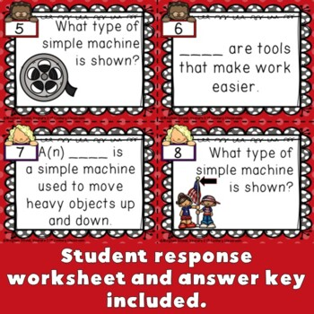Simple Machines Task Cards