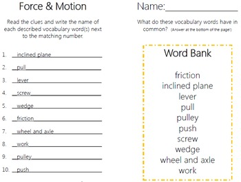 Simple Machines Task Cards {with PHOTOS to differentiate}