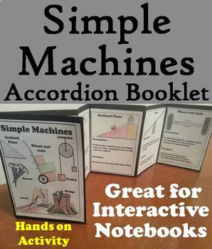 Simple Machines Task Cards and Activities Bundle