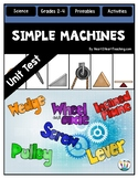 Simple Machines Test {Editable}