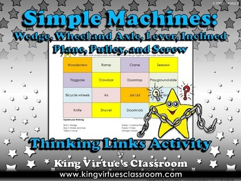 Simple Machines Thinking Links #2 - King Virtue's Classroom