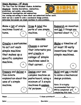 Simple Machines Project