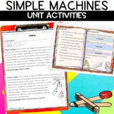 Simple Machines Unit with Nonfiction Reading Articles, Fli