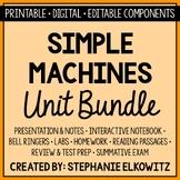 Simple Machines Unit Bundle