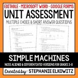 Simple Machines Unit Exam