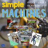 Simple Machines Bundle: Force, Motion, and Gravity Activities & Assessments