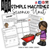 Simple Machines Mini-Bundle STEAM Unit, Experiments, Posters and Quiz