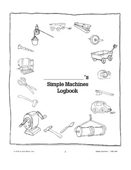 Simple Machines: Using Logbooks