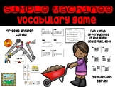 Simple Machines Vocabulary Game and Review