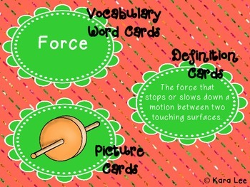 Simple Machines Vocabulary Games