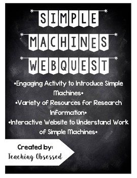 Simple Machines Webquest