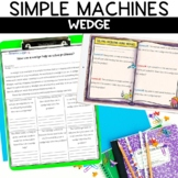 Simple Machines Wedge Reading and Demonstration Activity