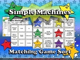 Simple Machines (Wedge, Pulley, Screw, etc.) Matching Game Sort