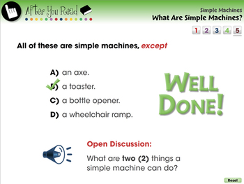 Simple Machines: What Are Simple Machines - PC Gr. 5-8