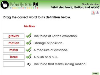 Simple Machines: What Is Force, Motion, and Work? - PC Gr. 5-8