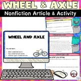 Simple Machines Wheel and Axle Digital Distance Learning Activity