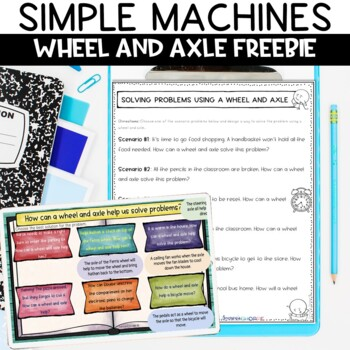Simple Machines Wheel and Axle Nonfiction Packet