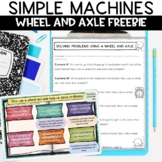 Simple Machines Wheel and Axle Nonfiction Packet and Demonstration Activity